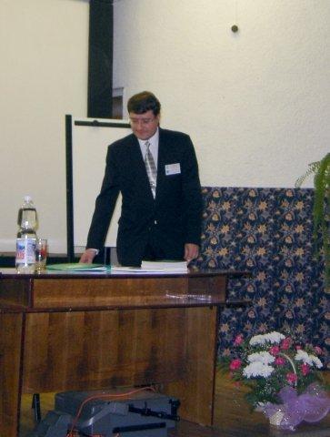 Вступительное слово председателя          оргкомитета К.А. Лутаенко.